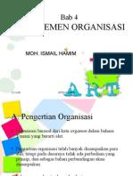 Bab-4 Manajemen Organisasi
