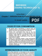 food processing introduction
