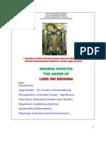 Dwaraka Kshetra - The Abode of Lord Sri Krishna