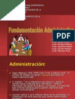 presentacion fundamentacion admon..ppt