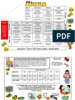 Menu Autumn Term 2 2014.15