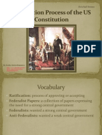 ratification process of the us constitution powerpoint