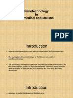 Nanotechnology in Biomedical Applications