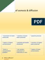 SCG - Osmosis and Diffusion