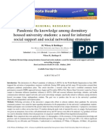 pandemic flu knowledge among dormitory housed.pdf