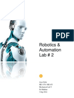 Robotics and Automation Lab Report # 2