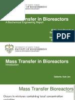 Mass Transfer in Bioreactors