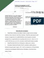 ALABAMA - Hard v. Bentley - Complaint