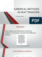 Numerical Methods in Heat Transfer