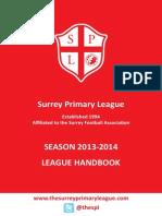 SPL Handbook 2013-14