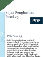 Pajak Penghasilan Pasal 25.pptx