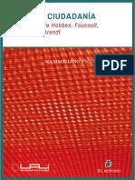 Poder y ciudadanía. Estudios sobre Hobbes, Foucault, Habermas y Arendt - Figueroa, Maximiliano.pdf