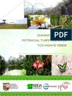 Diagnóstico del potencial Turístico en la TCO Monte Verde