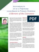 Alternative_Interventions to Formocrescol