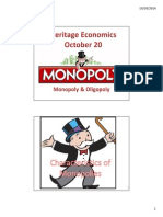 monopoly  oligopoly