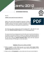 Knowledge Partnership Proposal