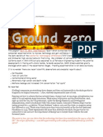 Ground Zero - STDs in Fracking
