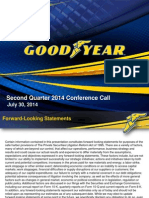 Goodyear Tire Q22014 Earning Presentation
