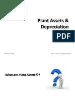 Plant Asset & Depreciation