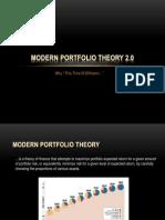 Modern Portfolio Theory 2