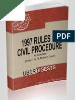 1997 Rules of Civil Procedure - Howard Chan