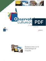 Enquête Observatoire Culture Papier 2014