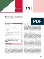 Provisional Restorations-Advanced Operative Dentistry 2011