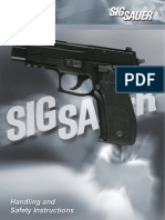 SIG P-226 Owner's Manual
