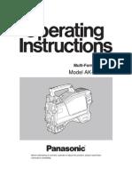 Panasonic Digital Camera AK-HC930P