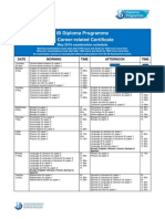 International Baccalaureate May 2015 Exam Dates