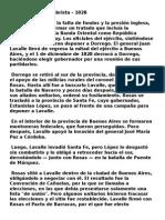 Revolución Decembrista - Asunción de Rosas.doc