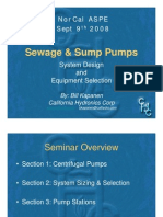 ASPE Sewage and Sump Pump Sizing 9-9-08