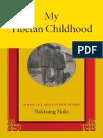 My Tibetan Childhood by Naktsang Nulo