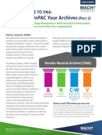 2014 Guide to VNA (Part 2) - It's Time to UnPAC Your Archives