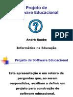 projeto de um Software Educacional.ppt