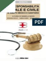La responsabilità civile e penale in ambito medico e sanitario