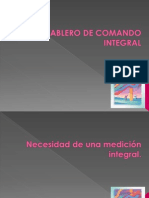 TABLERO DE COMANDO INTEGRAL .ppt
