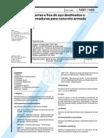 NBR 7480 - Barras e fios de aço destinados a armaduras.pdf