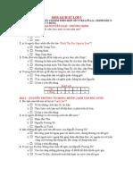 De Trac Nghiem Lich Su 5- Bai 1-8
