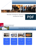 Review of Photonic Device Dynamics Guillaume Huyet