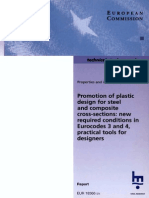 Promotion of Plastic Design for Steel and Composite Cross Sections