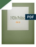 1920s politics ppt