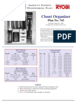 Closet Organiser (dulap haine)