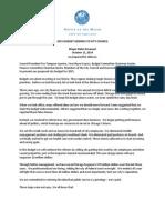 Mayor Emanuel's 2015 Budget Address