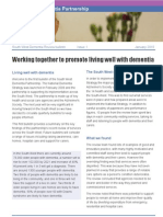 South West dementia partnership bulletin, Issue 1, January 2010
