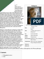 Pythagoras - Wikipedia, The Free Encyclopedia