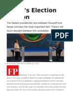 Brazil's Election Illusion