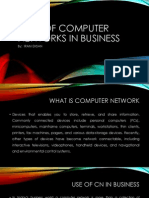 Role of Computer Networks in Business