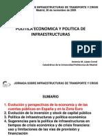 Antonio Lopez_Politica Economica y Politica de Infraestructuras.ppt