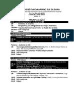 IV SEMINÃ-RIO DE ENGENHARIA DO SUL DA BAHIA 12 a 14 novembro_programação inicial.doc
